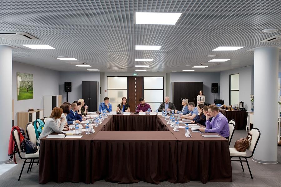 Бизнес и СМИ вступили в диалог Деловом квартале «Сириус парк»