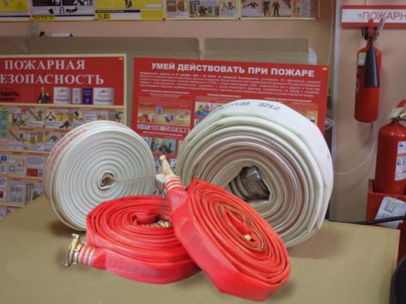 В «Сириус Парке» проведена перекатка пожарных рукавов