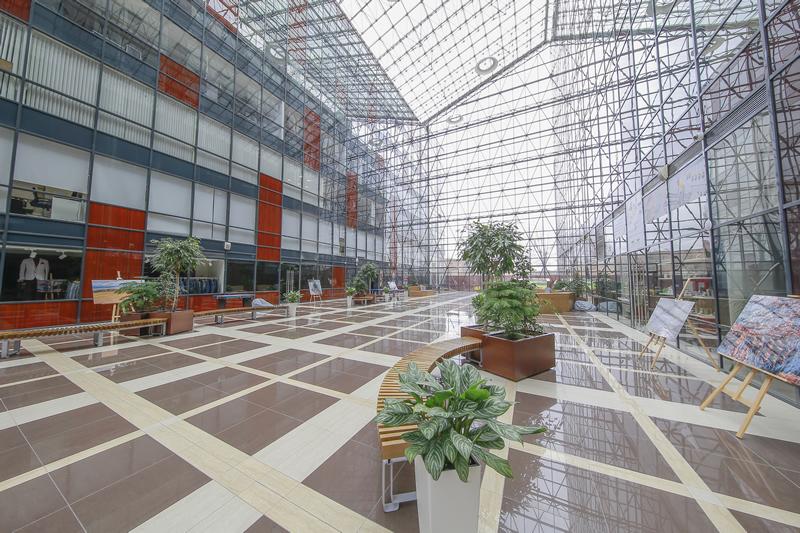 Акция по продаже офисов в самом красивом здании Делового квартала СИРИУС ПАРК