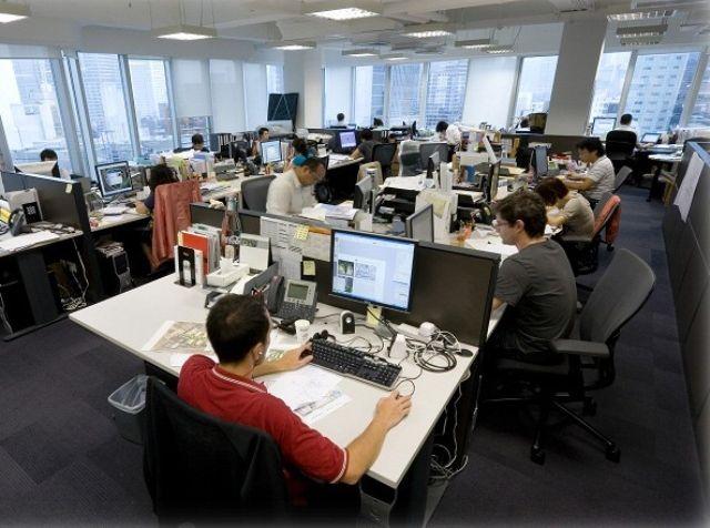 С 2010 года площадь арендуемых офисов уменьшилась в 1,5 раза