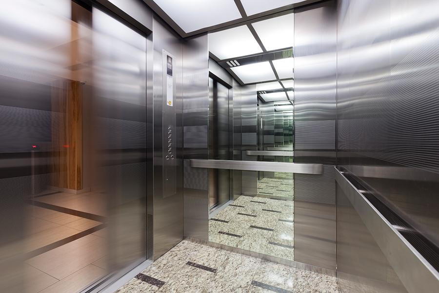 Лифтовые группы в «Сириус Парке» преобразились